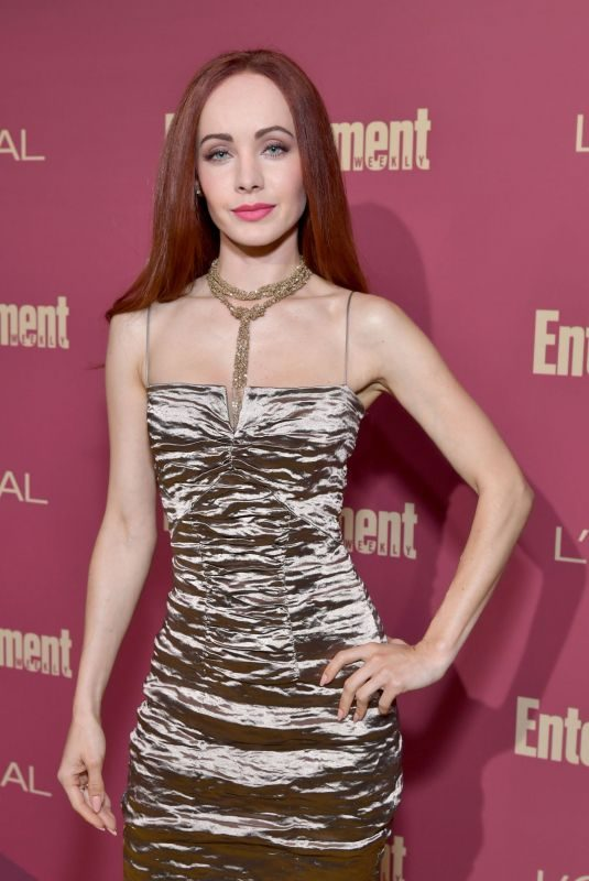KSENIA SOLO at 2019 Entertainment Weekly and L'Oreal Pre-emmy Party in Los Angeles 09/20/2019