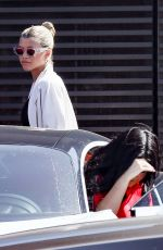 KYLIE JENNER and SOFIA RICHIE Leaves Nobu in Malibu 09/21/2019