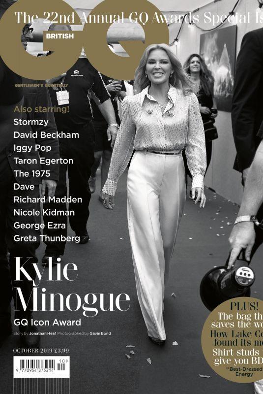 KYLIE MINOGUE in GQ Magazine, UK October 2019