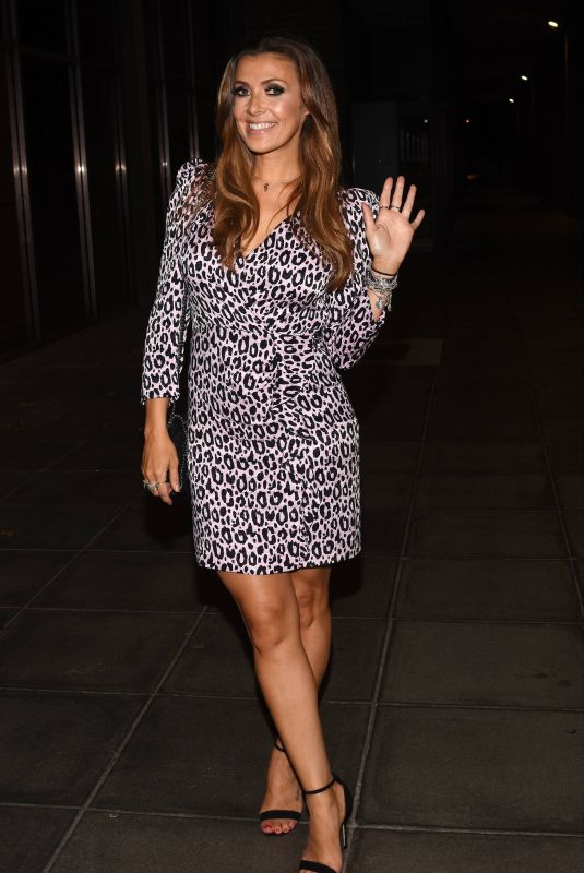 KYM MARSH Arrives at Ray Darcy Show in Dublin 09/21/2019