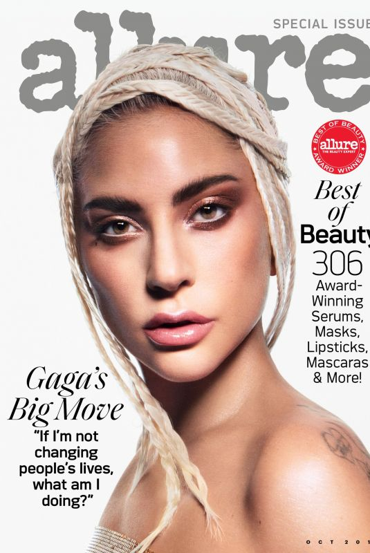 LADY GAGA in Allure Magazine, October 2019