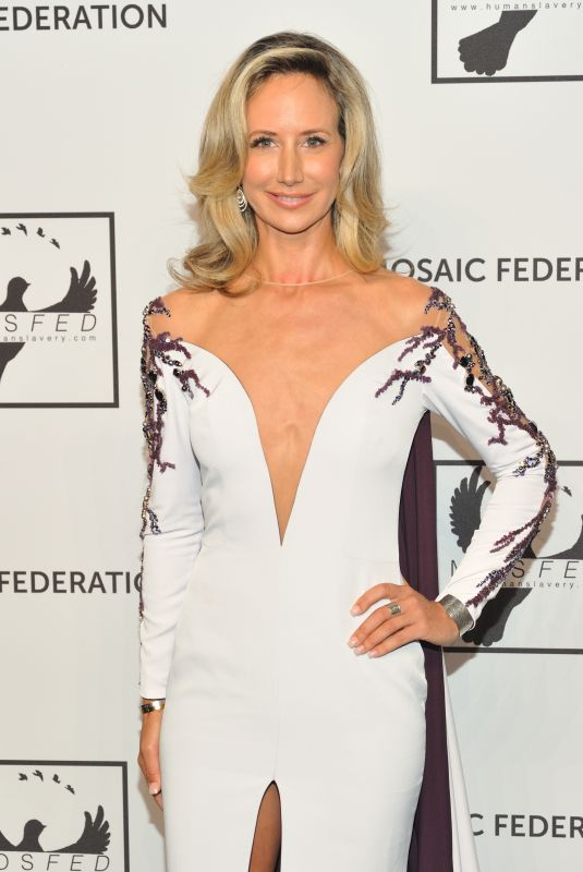 LADY VICTORIA HERVEY at Mosaic Federation Gala Against Human Slavery in New York 09/10/2019