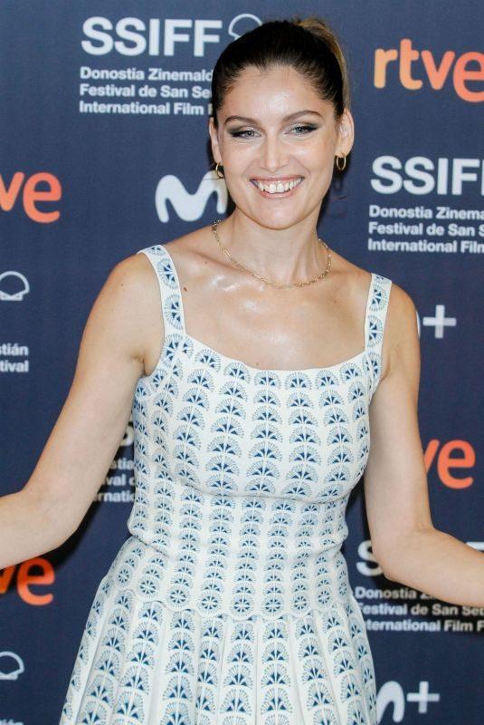 LAETITIA CASTA at Le Mileu De L'Horizon Photocall at 67th San Sebastian International Film Festival 09/26/2019