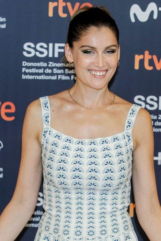 LAETITIA CASTA at Le Mileu De L'Horizon Premiere at 67th San Sebastian International Film Festival 09/26/2019