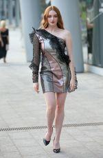 LARSEN THOMPSON at Alberta Ferretti Fashion Show at MFW in Milan 09/18/2019