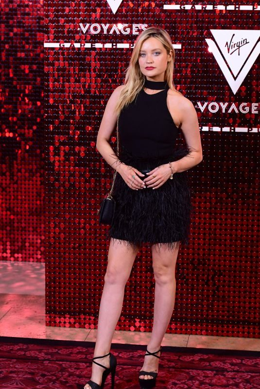 LAURA WHITMORE at Virgin Voyages Capsule Collection Launch at London Fashion Week 09/15/2019