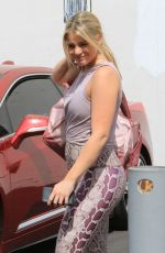 LAUREN ALAINA Arreives at DWTS Studio in Los Angeles 09/21/2019