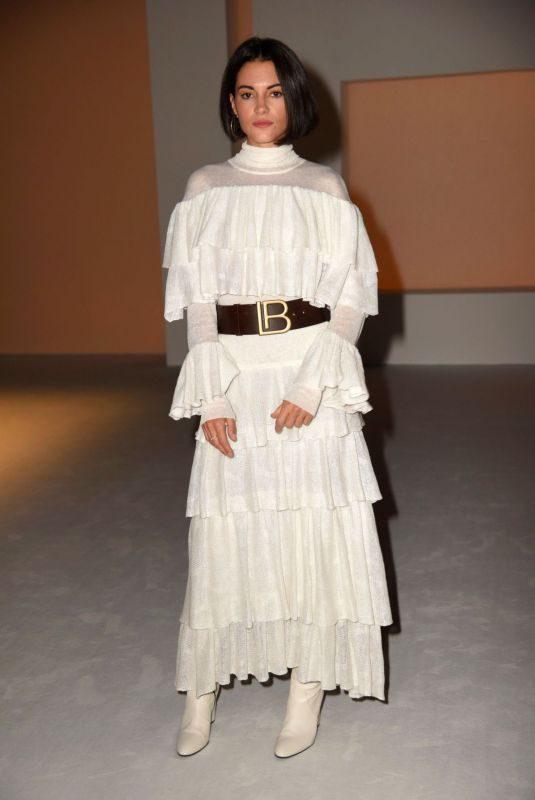 LAVINIA GUGLIELMAN at Laura Biagiotti Sashion at Milan Fashion Show 09/22/2019