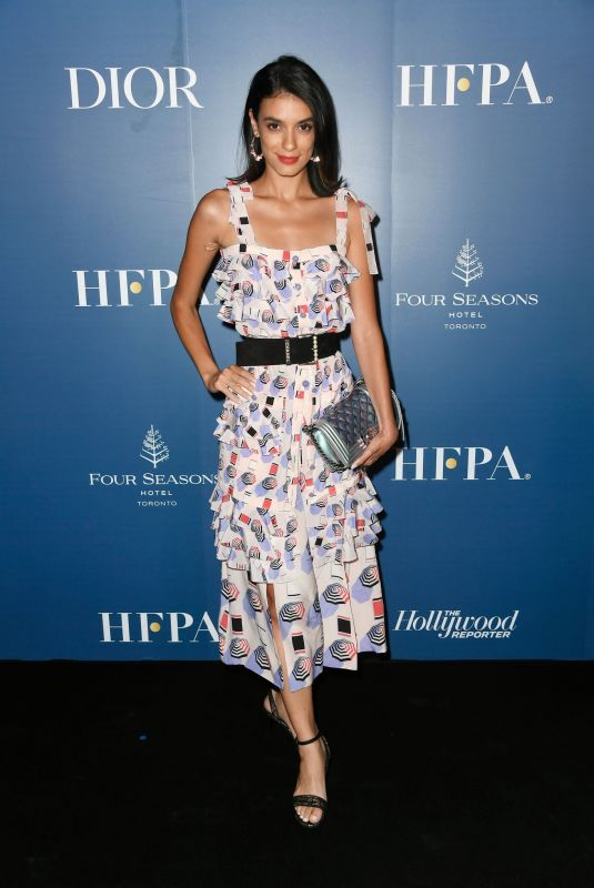LAYSLA DE OLIVEIRA at HFPA x Hollywood Reporter Party in Toronto 09/07/2019