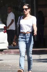 LEA MICHELE Shopping at Switch Boutique in Bel-air 09/24/2019