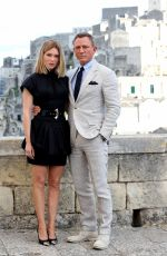 LEA SEYDOUX and Daniel Craig on Location in Italy for James Bond No Time Do Die Movie 09/19/2019