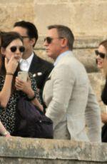 LEA SEYDOUX on the Set of New James Bond Movie in Matera 09/10/2019