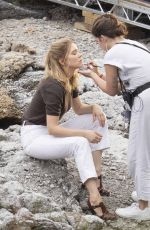 LEA SEYDOUX on the Set of No Time To Die in Italy 09/26/2019