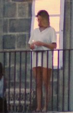 LEA SEYDOUX on the Set of No Time To Die in London 09/17/2019