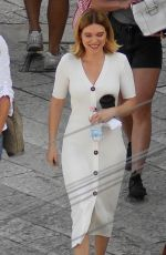 LEA SEYDOUX on the Set of No Time to Die, New James Bond Movie in Matera 09/15/2019