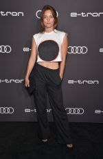LEILA GEORGE at Audi Pre-emmy Party in Los Angeles 09/19/2019
