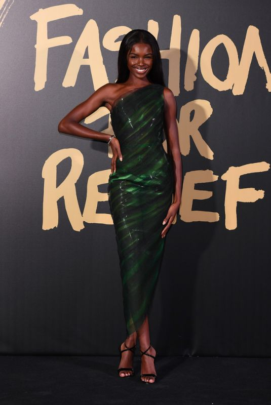 LEOMIE ANDERSON at Fashion for Relief Gala 2019 in London 09/14/2019