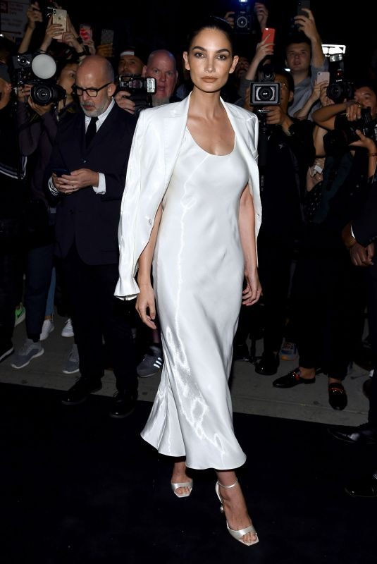 LILY ALDRIDGE at Ralph Lauren Fashion Show at NYFW in New York 09/07/2019