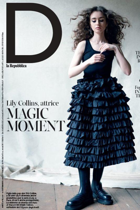 LILY COLLINS for D La Republica Magazine, September 2019