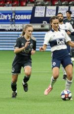 LIZZY GREENE Playing at Annual Vancouver Whitecaps Charity Game 09/14/2019