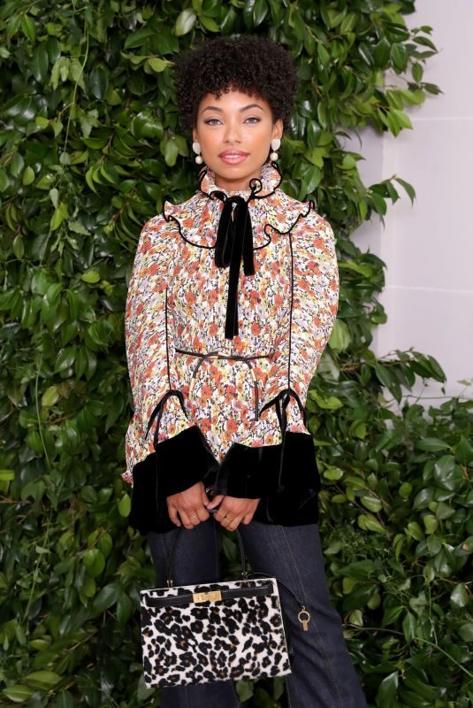 LOGAN BROWNING at Tory Burch Fashion Show at NYFW in New York 09/08/2019