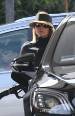 LORI LOUGHLIN at a Gas Station in West Hollywood 09/25/2019
