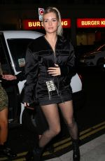 LOTTIE MOSS Arrives at Love Magazine London Fashion Week Party 09/16/2019
