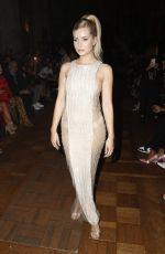 LOTTIE MOSS at Julien Macdondald Fashion Show in London 09/16/2019
