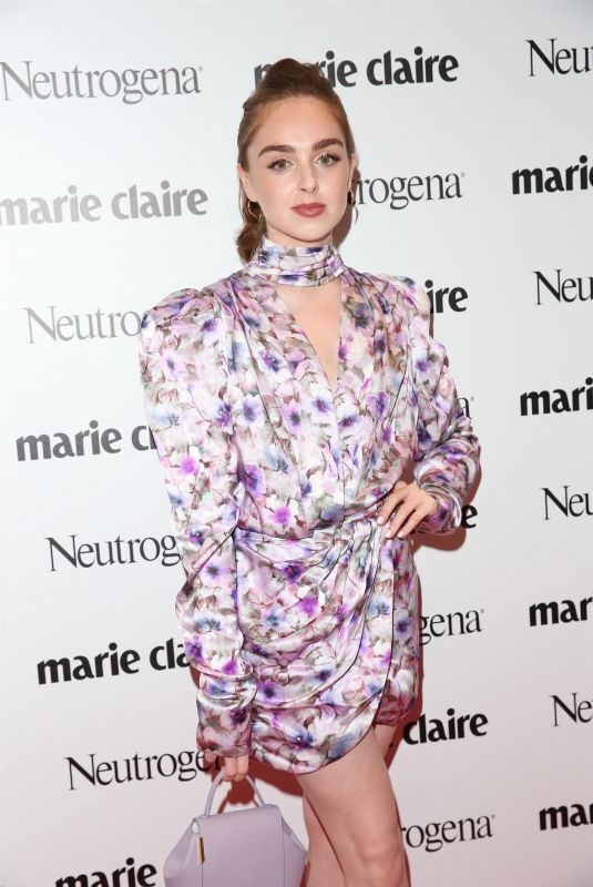 LOUISA CONNOLLY-BURNHAM at Marie Claire Future Shapers Awards in London 09/19/2019