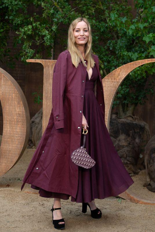 LUCIE DE LA FALAISE at Christian Dior Show at Paris Fashion Week 09/24/2019