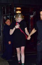 LUCY BOYNTON and Rami Malek Leaves Bowery Hotel in New York 09/28/2019
