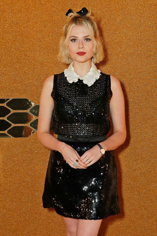 LUCY BOYNTON at Bvlgari Serpenti Seduttori Launch at Roundhouse in London 09/15/2019