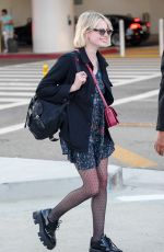 LUCY BOYNTON at LAX Airport in Los Angeles 09/29/2019