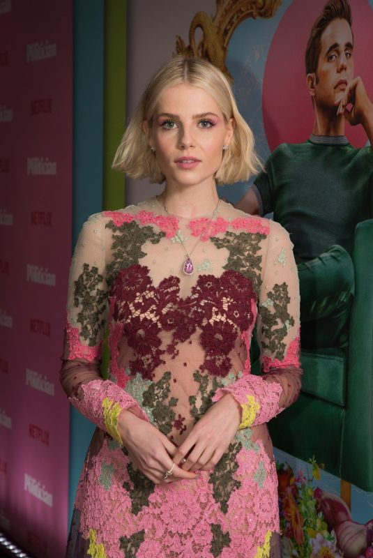 LUCY BOYNTON at The Politician Special Screening in London 09/16/2019