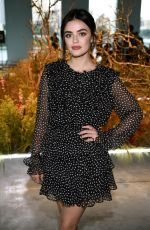 LUCY HALE at Jason Wu Fashion Show in New York 09/08/2019