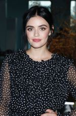 LUCY HALE at Jason Wu Show at New York Fashion Week 09/08/2019