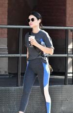 LUCY HALE Heading to a Gym in New York 09/15/2019