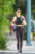 LUCY HALE Out for Coffee in Los Angeles 09/01/2019