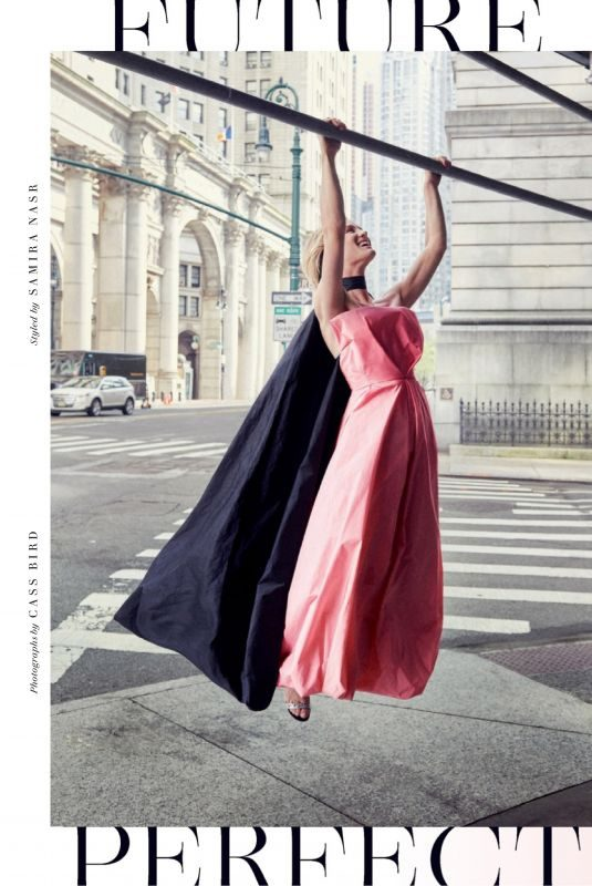 MACKENZIE DAVIS in Vanity Fair Magazine, October 2019