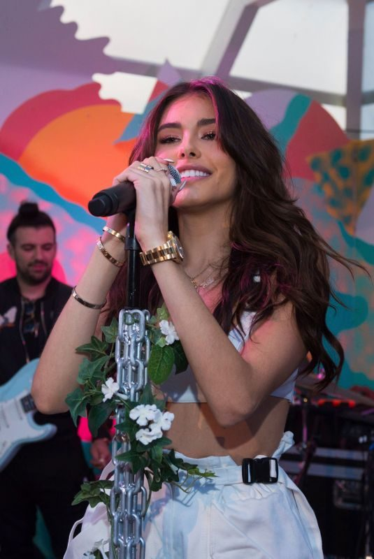 MADISON BEER Performs at Surf Lodge in Montauk 08/31/2019