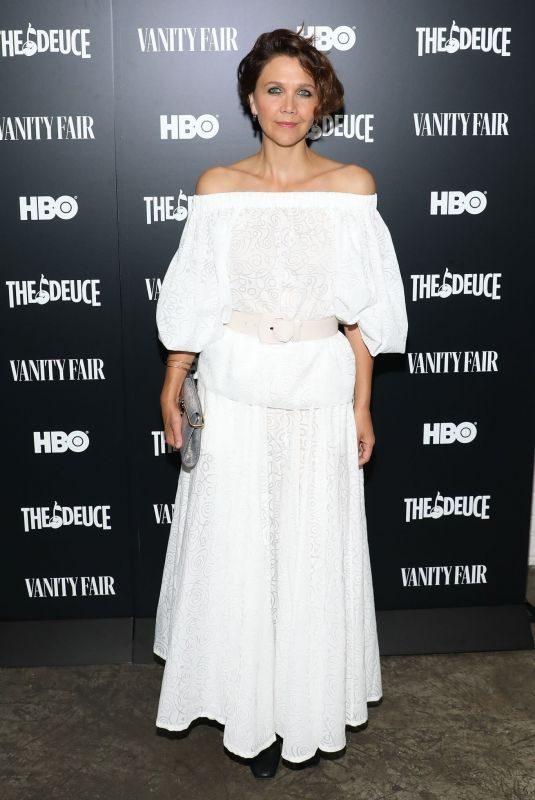 MAGGIE GYLLENHAAL at The Deuce Screening in New York 09/05/2019