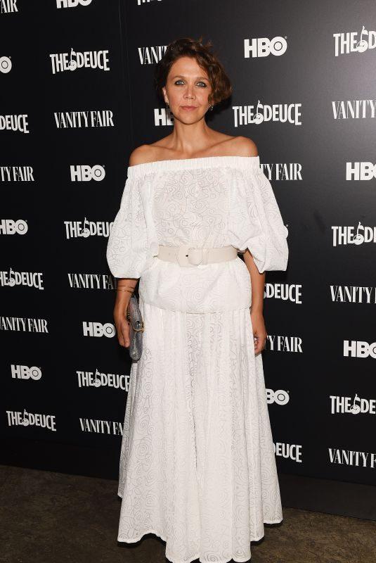 MAGGIE GYLLENHAAL at The Deuce, Season 3 Special Screening Hosted by Vanity Fair in New York 09/05/2019