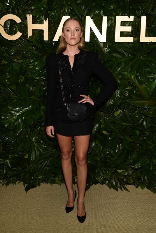 MAIKA MONROE at Gabrielle Chanel Essence with Margot Robbie Launch in Los Angeles 09/12/2019