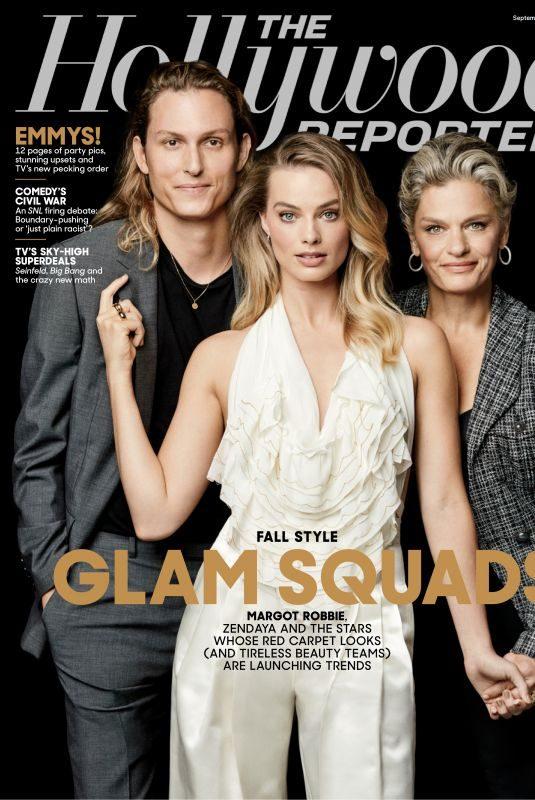 MARGOT ROBBIE – Glam Squad – The Hollywood Reporter Magazine, September 2019