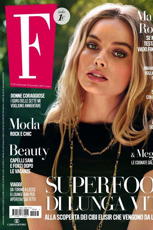 MARGOT ROBBIE in F Magazine, September 2019