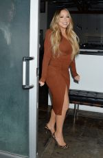 MARIAH CAREY Night Out in Hollywood 09/17/2019