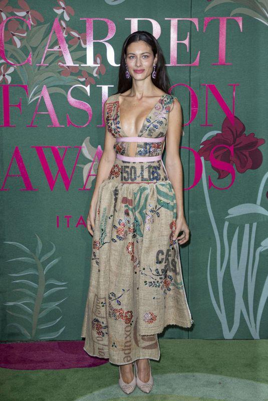 MARICA PELLEGRINELLI at Green Carpet Fashion Awards in Milan 09/22/2019