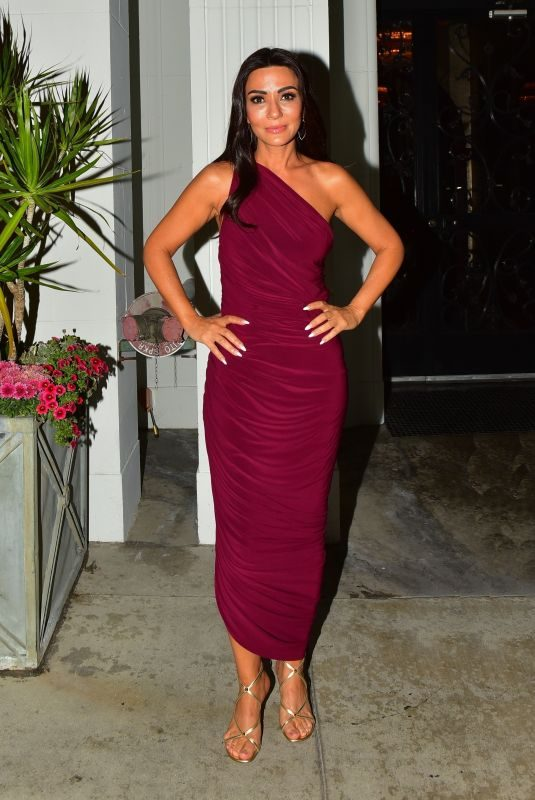 MARISOL NICHOLS at Mastro's Steakhouse in Beverly Hills 09/22/2019