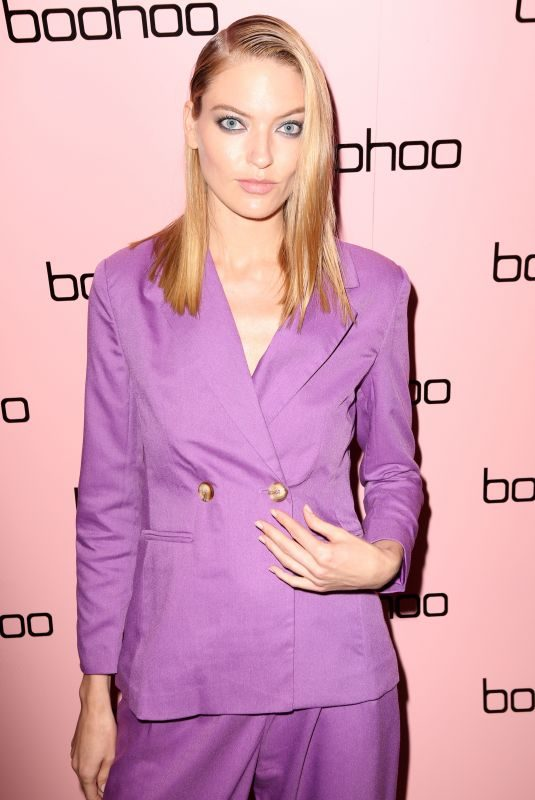 MARTHA HUNT at Boohoo Mansion NYWF Party in New York 09/12/2019