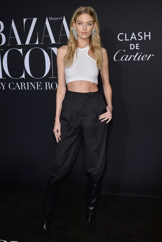 MARTHA HUNT at Harper's Bazaar Icons in New York 09/06/2019